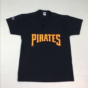 Vintage 1990's Pirates MLB Jersey Russle Athletic